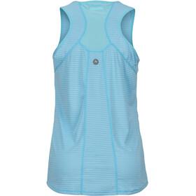 Marmot Aero Mouwloos Shirt Dames blauw